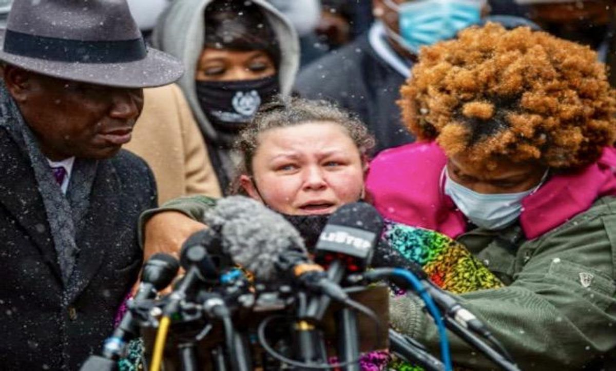 Grieving Black families present united front in Minneapolis