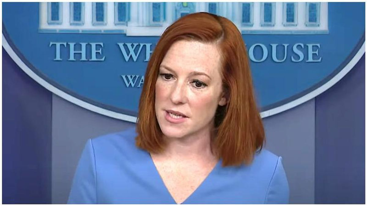 'That is not how it works': Jen Psaki dismantles conservative reporter's factually incorrect question