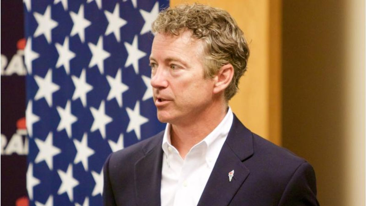 Rand Paul complains that courts didn't give Trump's election fraud conspiracies a chance