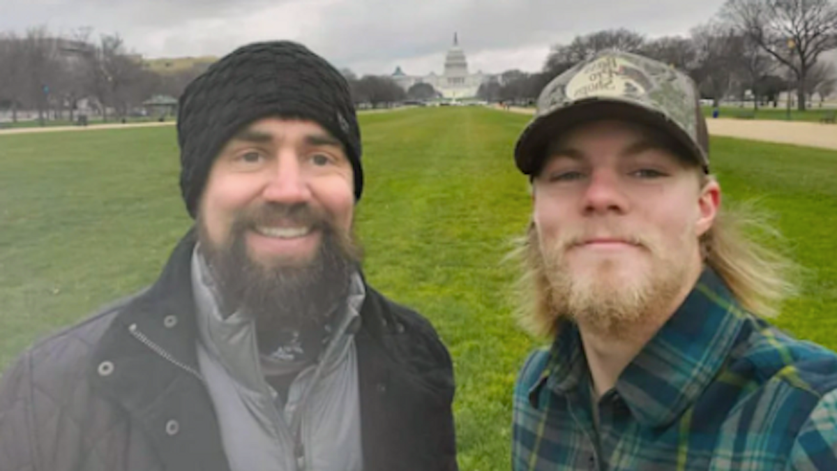 Navy SEAL insists he and his son left Capitol before riot -- but videos and photos show otherwise