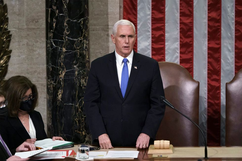 Former Vice President Mike Pence undergoes heart procedure