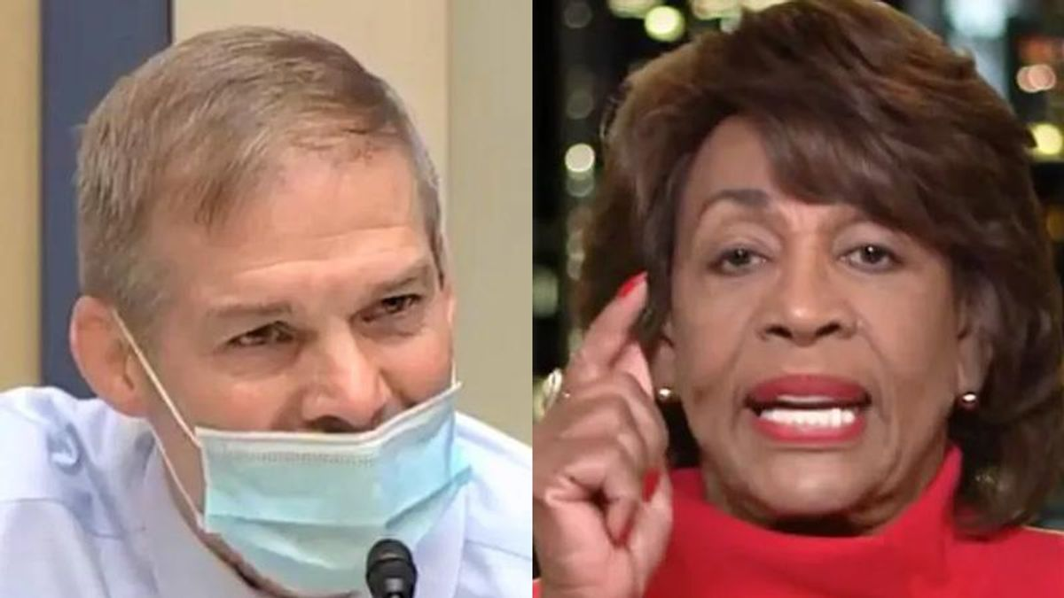 'National embarrassment' Jim Jordan faces brutal mockery after getting shut down by Fauci and Maxine Waters