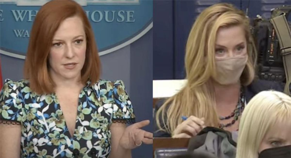 Press Secretary Jen Psaki brilliantly smacks down Newsmax reporter trying to get Black UN Ambassador fired