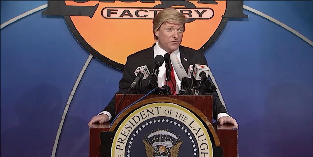 ​Comedy exclusive: Raw Story Podcast welcomes 'President Trump'