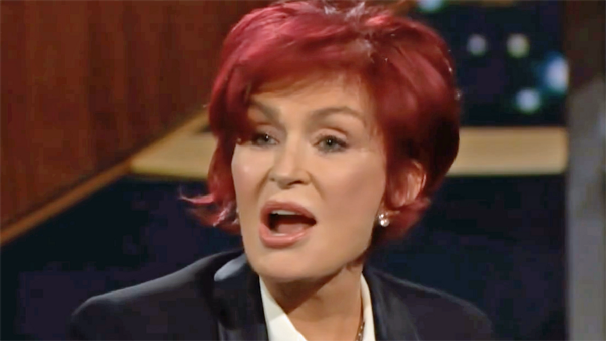 Sharon Osbourne gives first interview to Bill Maher -- and of course the talk is on 'cancel culture'