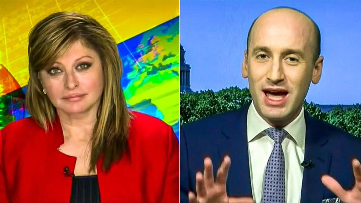 Maria Bartiromo and Stephen Miller panic over voting rights putting Democrats in charge 'forever'