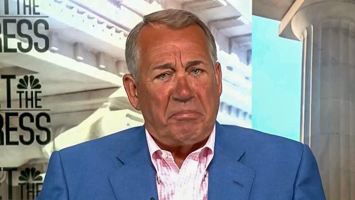 John Boehner: Obama 'set everybody on fire' and caused racism in the Republican Party with 'speeches'