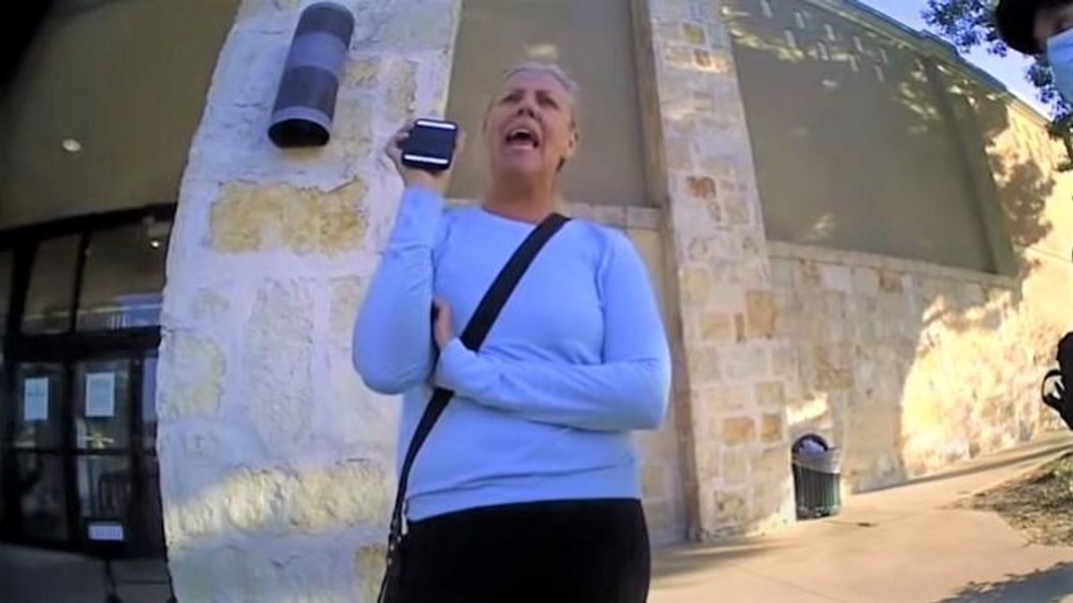 WATCH: Mask-hating Texas school board candidate rants about being 'a woman of God' after getting kicked out of Nordstrom