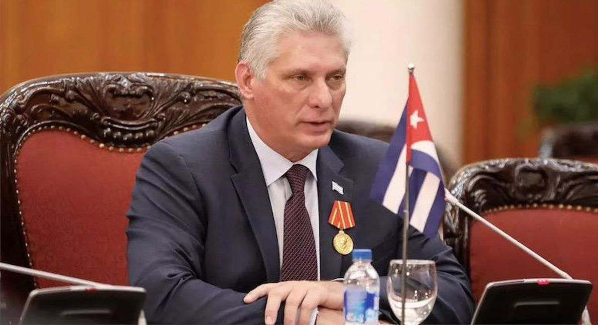 Cuba's Communist Party appoints Miguel Diaz-Canel as leader, replacing Raul Castro