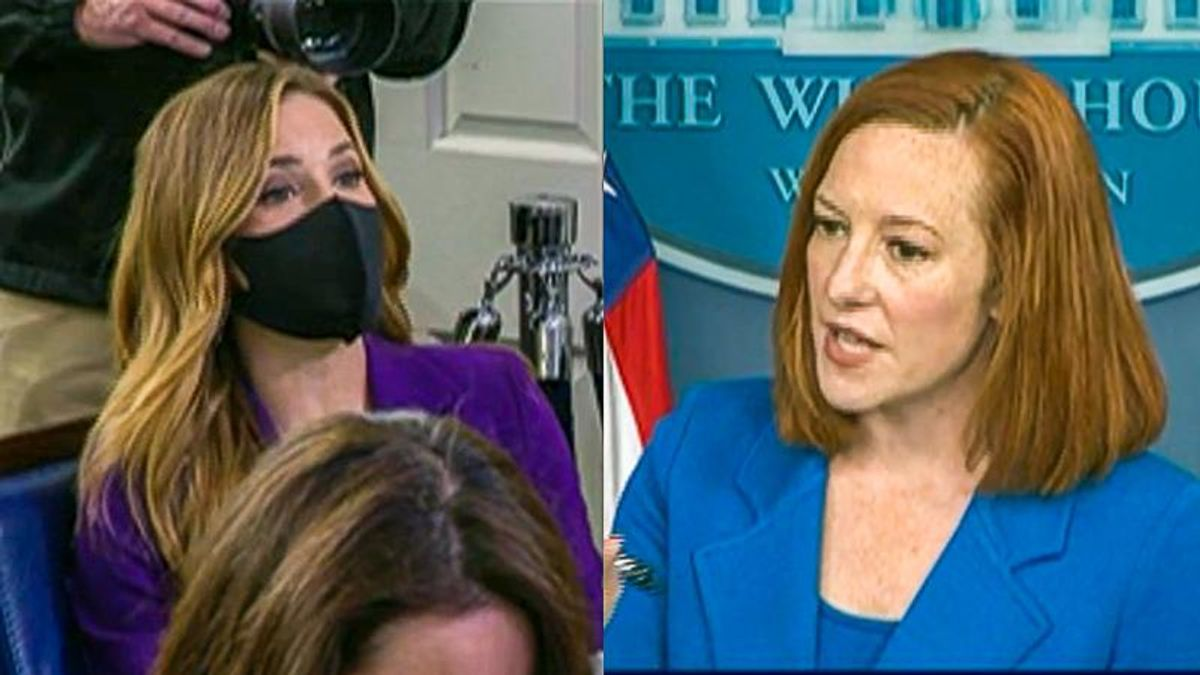 Jen Psaki shuts down Fox News reporter: 'I don't think you've articulated what our change in policy is'
