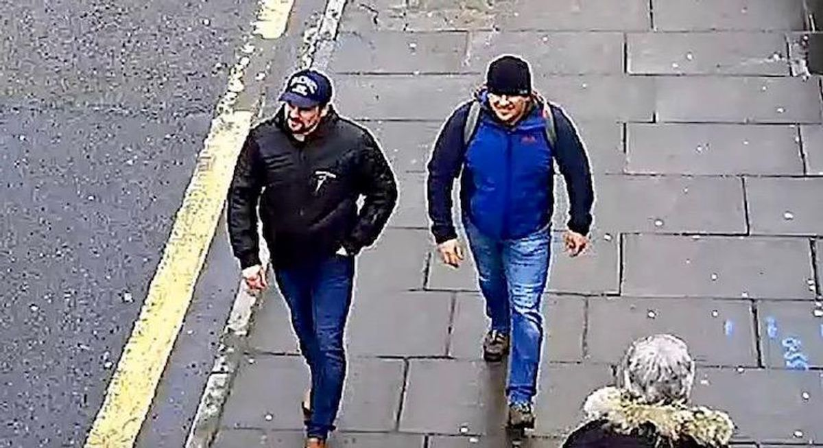 Russia's mystery duo back in the spotlight accused of black ops