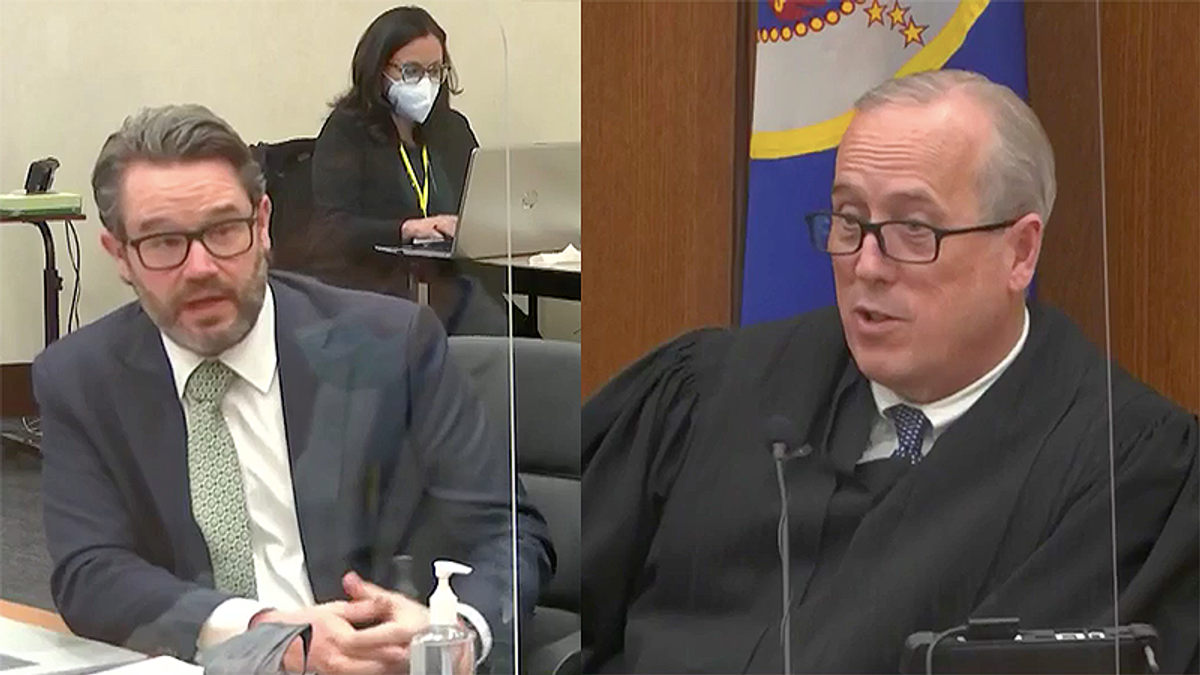 Chauvin lawyer whines about 'prosecutorial misconduct' after he says he was 'belittled' in court