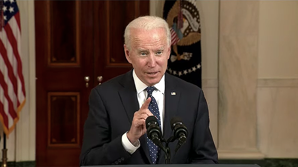 Joe Biden on Chauvin guilt: 'Murder in the full light of day that ripped the blinders off of systemic racism'