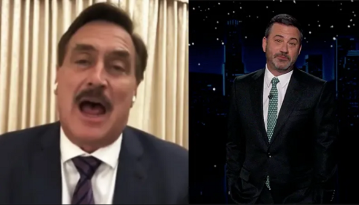 Jimmy Kimmel steps up his mockery of Mike Lindell after MyPillow CEO agrees to come on his show