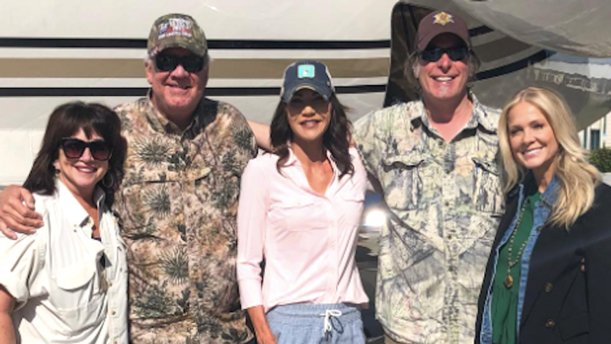 Ted Nugent jetted around with GOP's Kristi Noem while he was infected with COVID-19