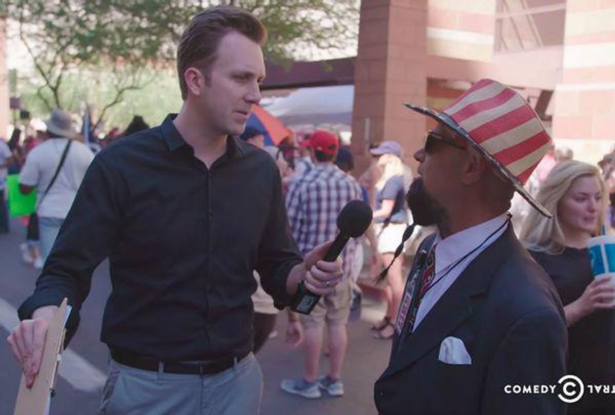 'Barron 2052': Jordan Klepper goes deep into the MAGAverse and finds frightening new Trump obsession