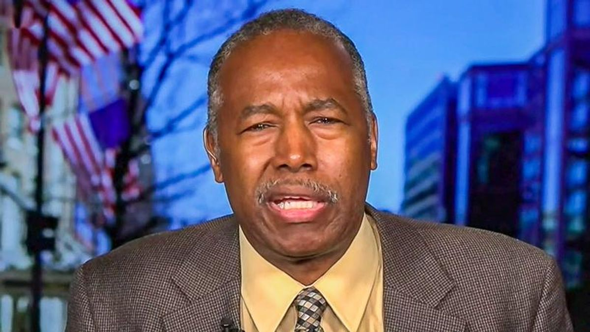 'That's what animals do': Ben Carson objects to people fighting for 'racial equity'