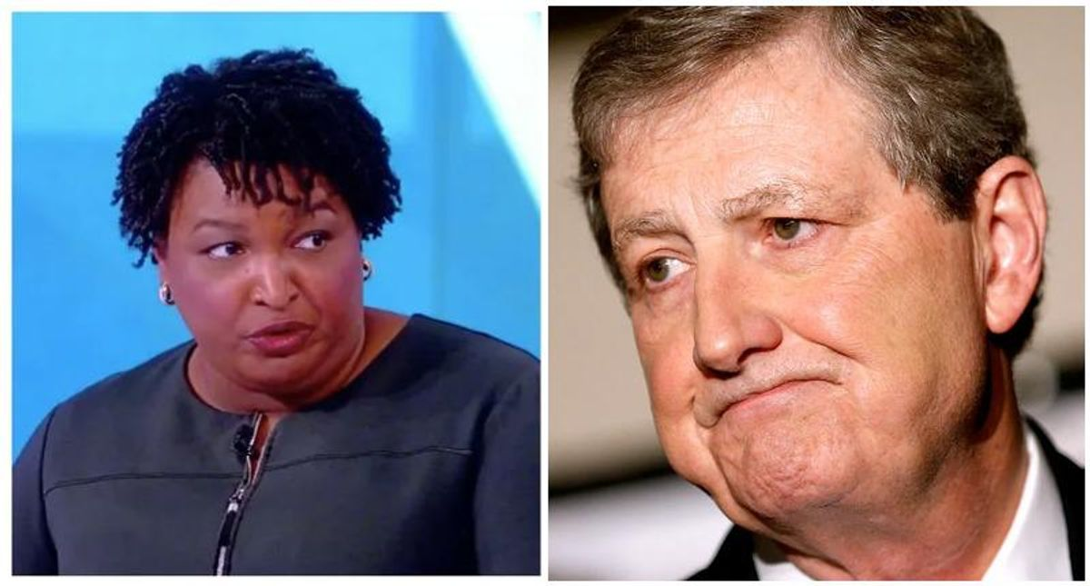 'He was a moron!' Morning Joe panelists mock GOP's John Kennedy for letting Stacey Abrams 'mow him down'