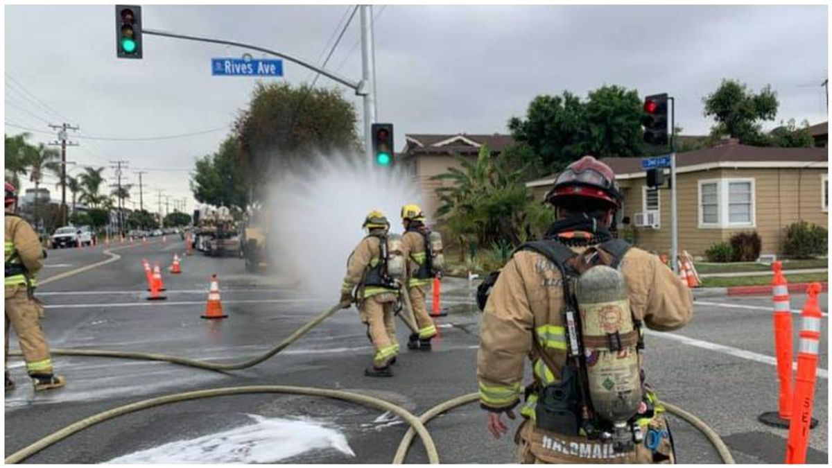 Small gas leak results in major warning to all of LA County