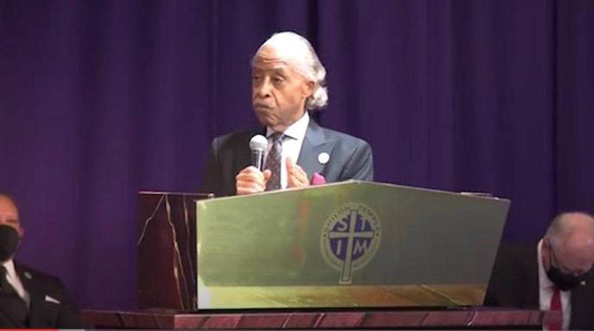 US police not above the law: Al Sharpton at Daunte Wright funeral