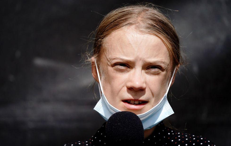 Greta Thunberg mocks British PM by changing Twitter bio to 'bunny hugger'
