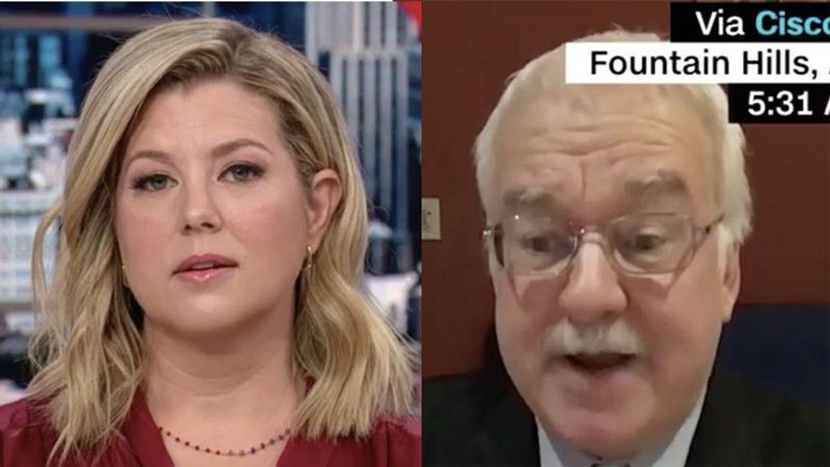 'What am I, Stalin?': GOP lawmaker snaps at CNN host after brutal grilling over voter suppression law
