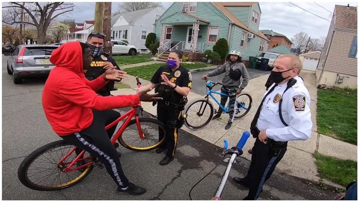 NJ cops were accused of racial profiling after seizing teens' bikes – but a new video tells a different story