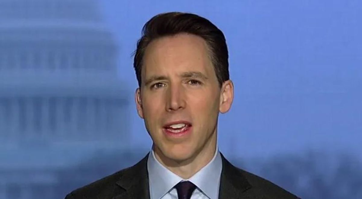 GOP's Josh Hawley slammed by Missouri paper for opposing Asian hate crime bill so he could go on Fox News