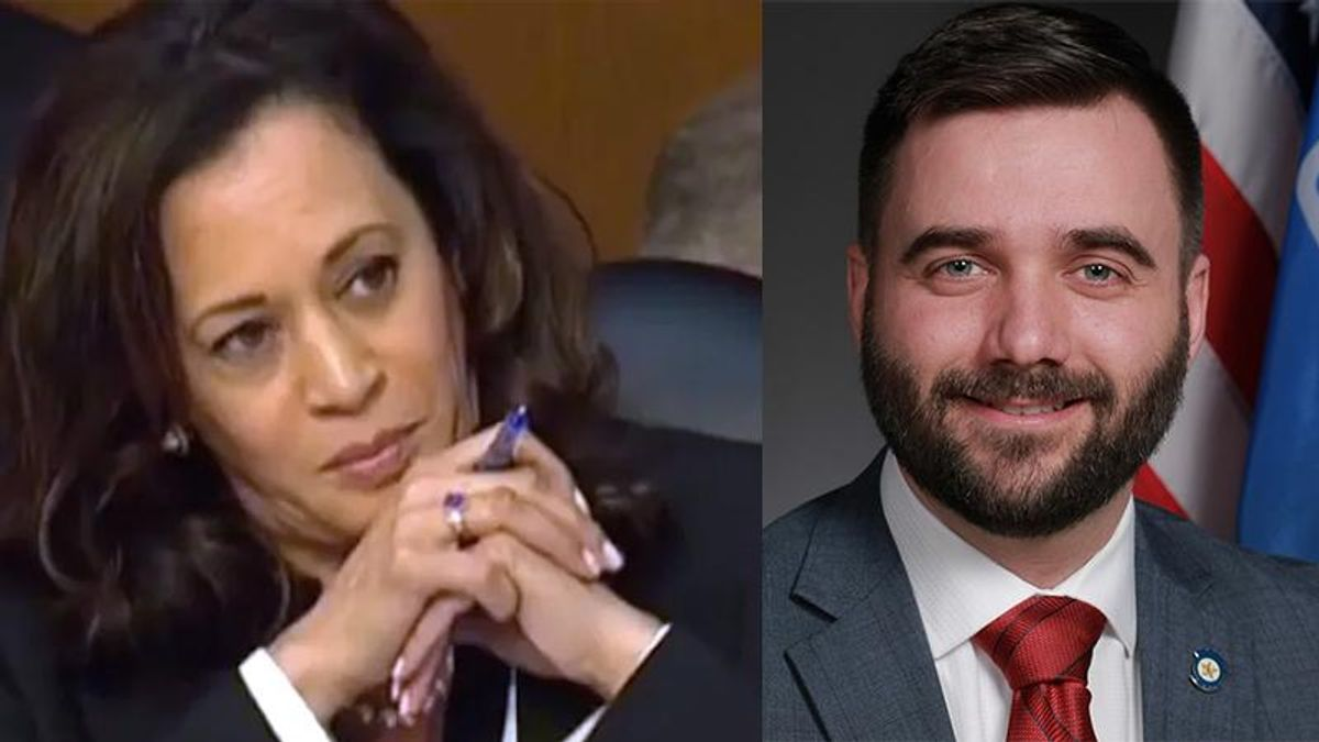 Oklahoma state senator falsely implies VP Kamala Harris used sexual favors to get elected in official press release