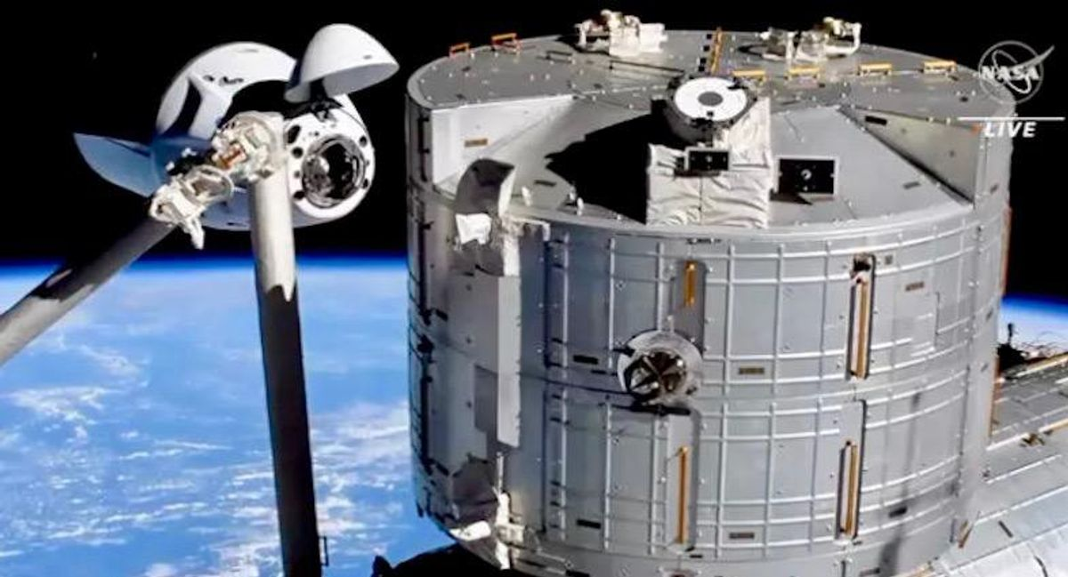SpaceX Crew Dragon Endeavour docks with ISS: NASA TV