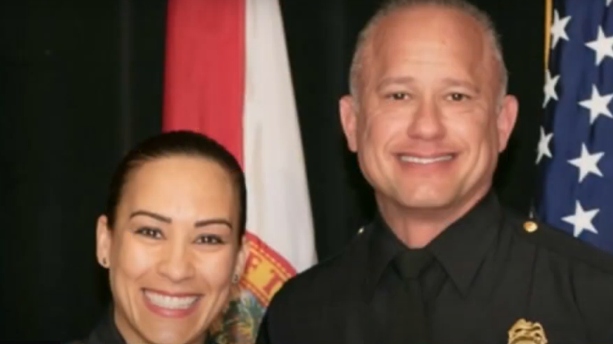 Florida deputy police chief suspended after tip he covered up his wife's car crash while she was 'under the influence'