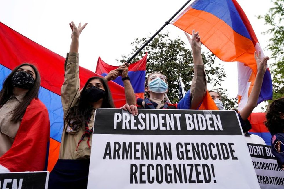 """Turkey says it will respond in time to """"outrageous"""" U.S. genocide statement"""
