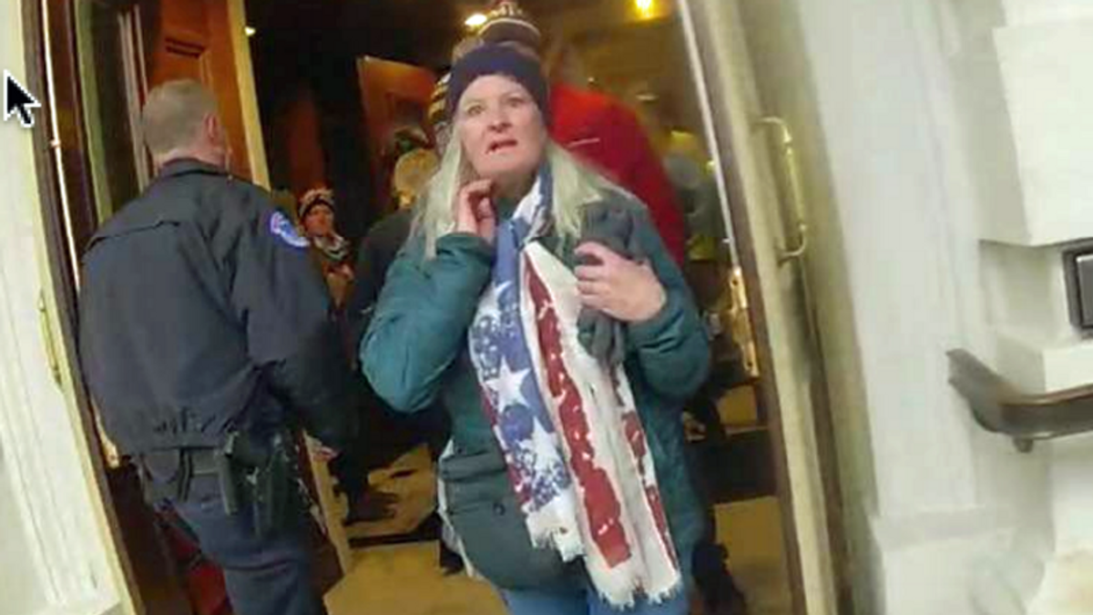 BUSTED: Kansas woman arrested after daughter bragged about her role in Trump's insurrection