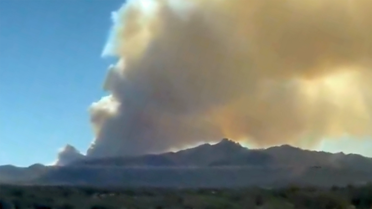 Evacuations ordered as massive forest fire erupts in Arizona: report