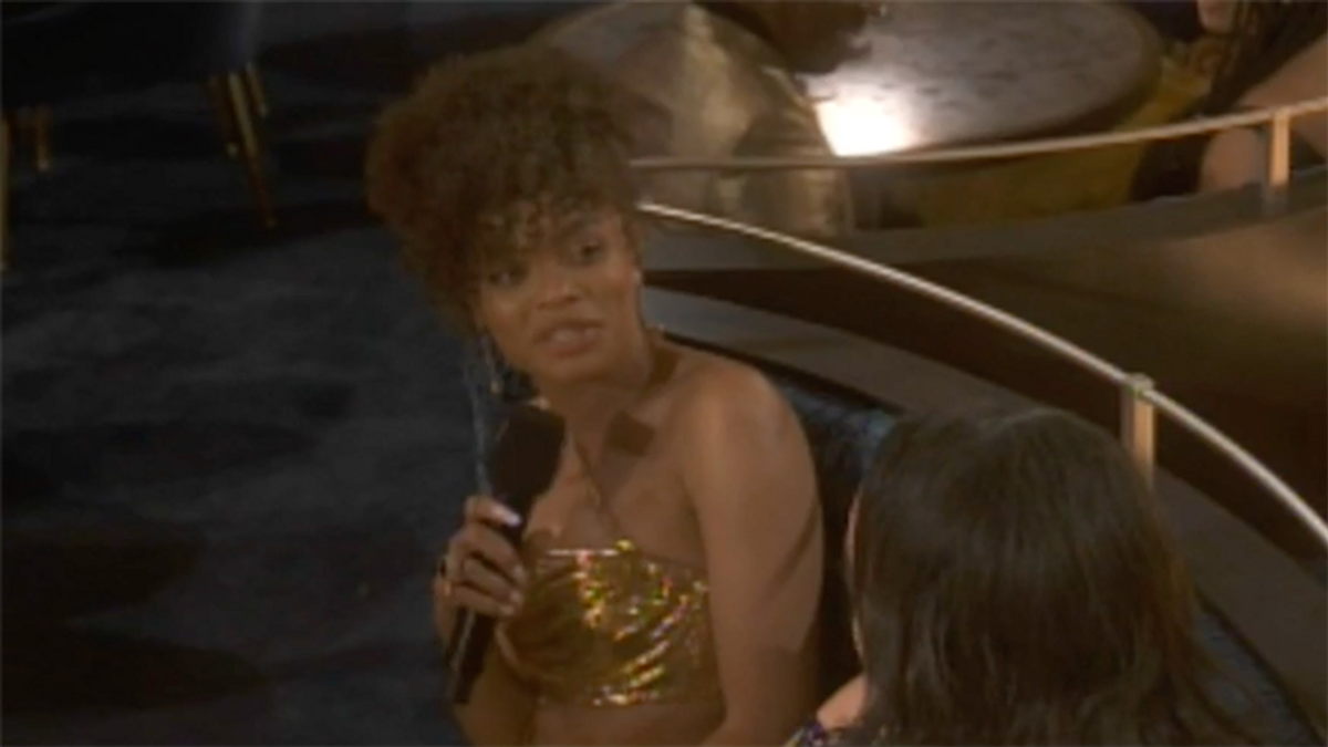 Andra Day called out the Academy at the Oscars -- and got censored