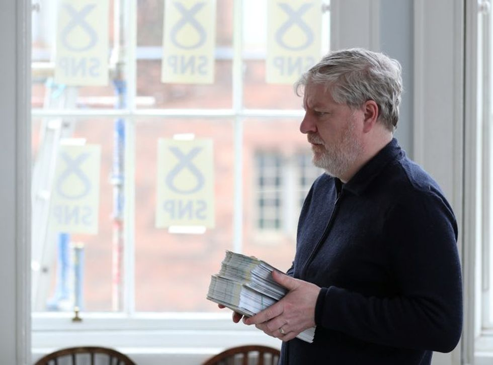 Scotland's feuding nationalists seek election majority to keep independence dream alive
