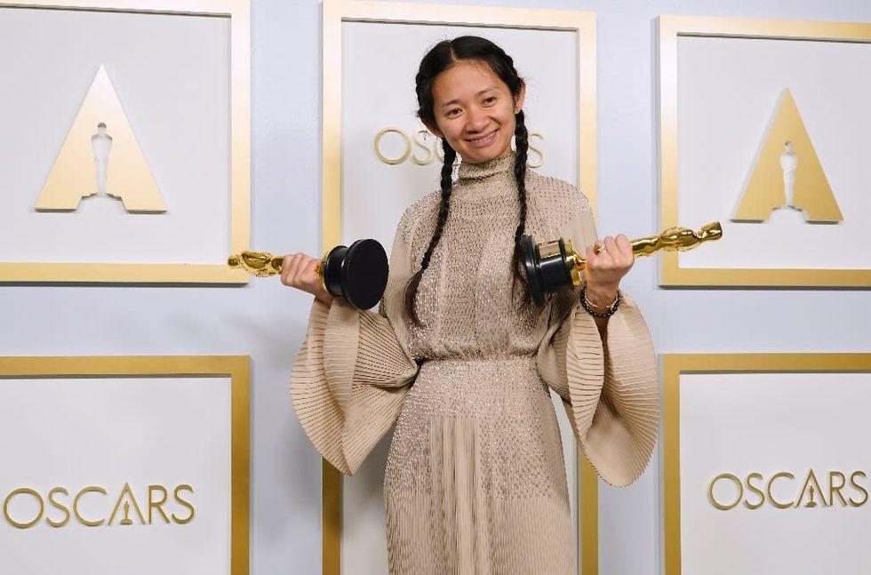 China censors Oscars success of history-making Chloe Zhao