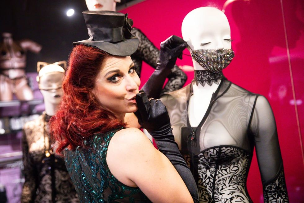 Meet the German burlesque dancer who's making the most out of the pandemic