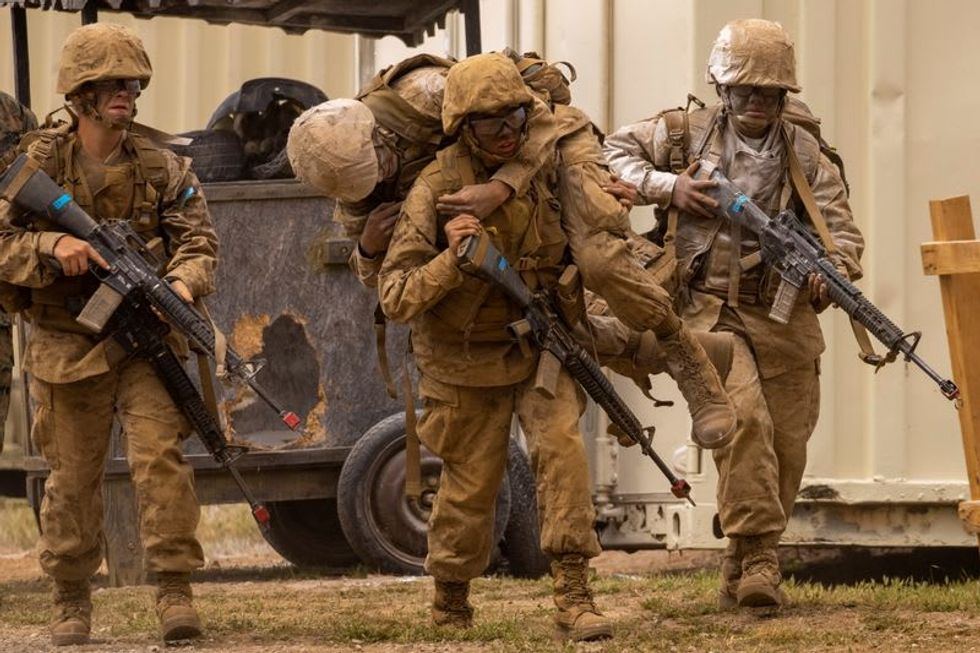 Breaking a barrier, women become US Marines after surviving the 'crucible'