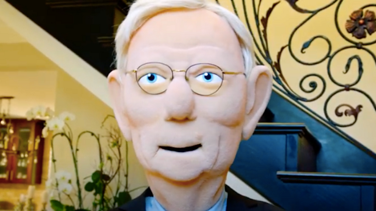 New Fox series takes aim at Mitch McConnell in hilarious parody