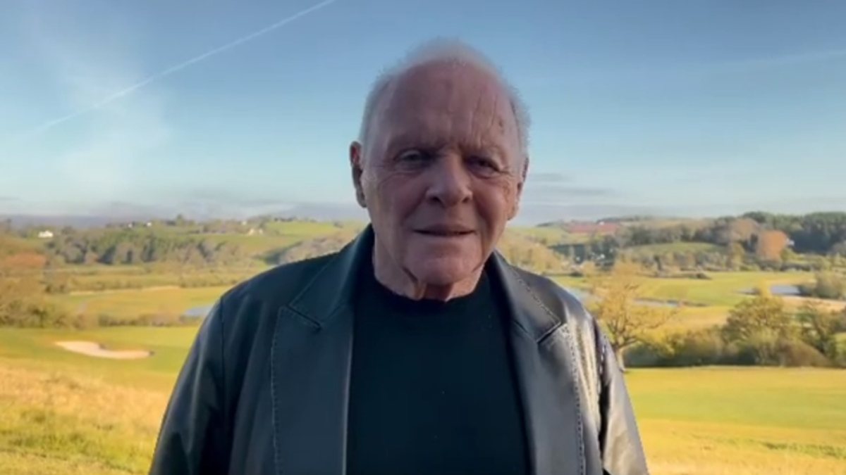 WATCH: Anthony Hopkins pays tribute to Chadwick Boseman — 'Taken from us far too early'