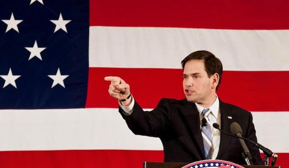 'Extortion': Marco Rubio slammed after threatening companies