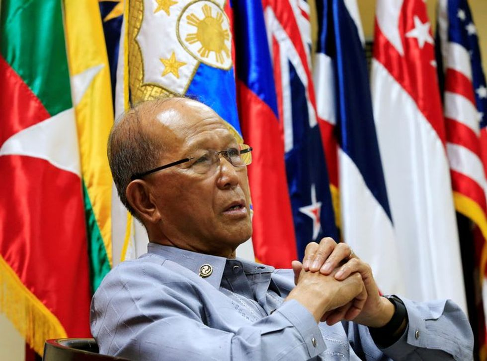 Philippines' defense chief says China intends to occupy more South China Sea areas