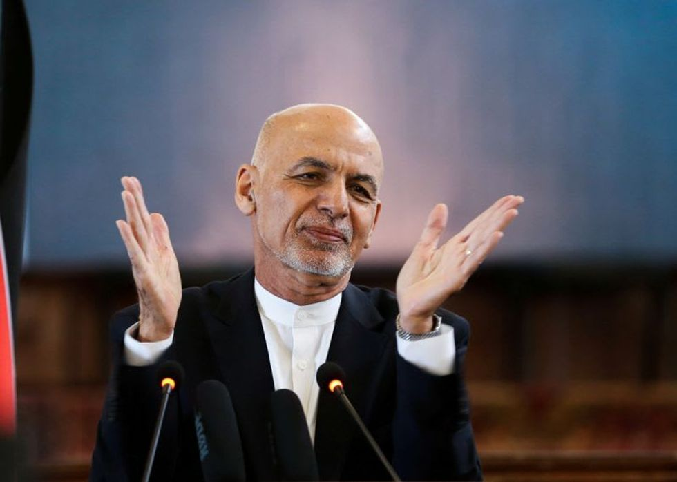 Afghan leader proposes peace road map in three phases: document