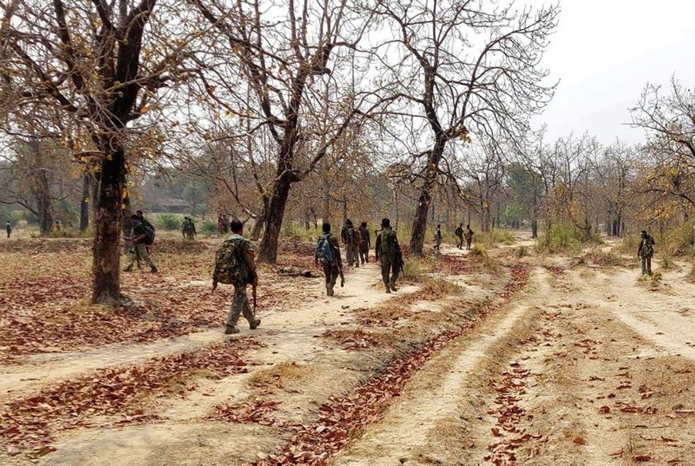 22 Indian security members killed in Maoist attack: government official
