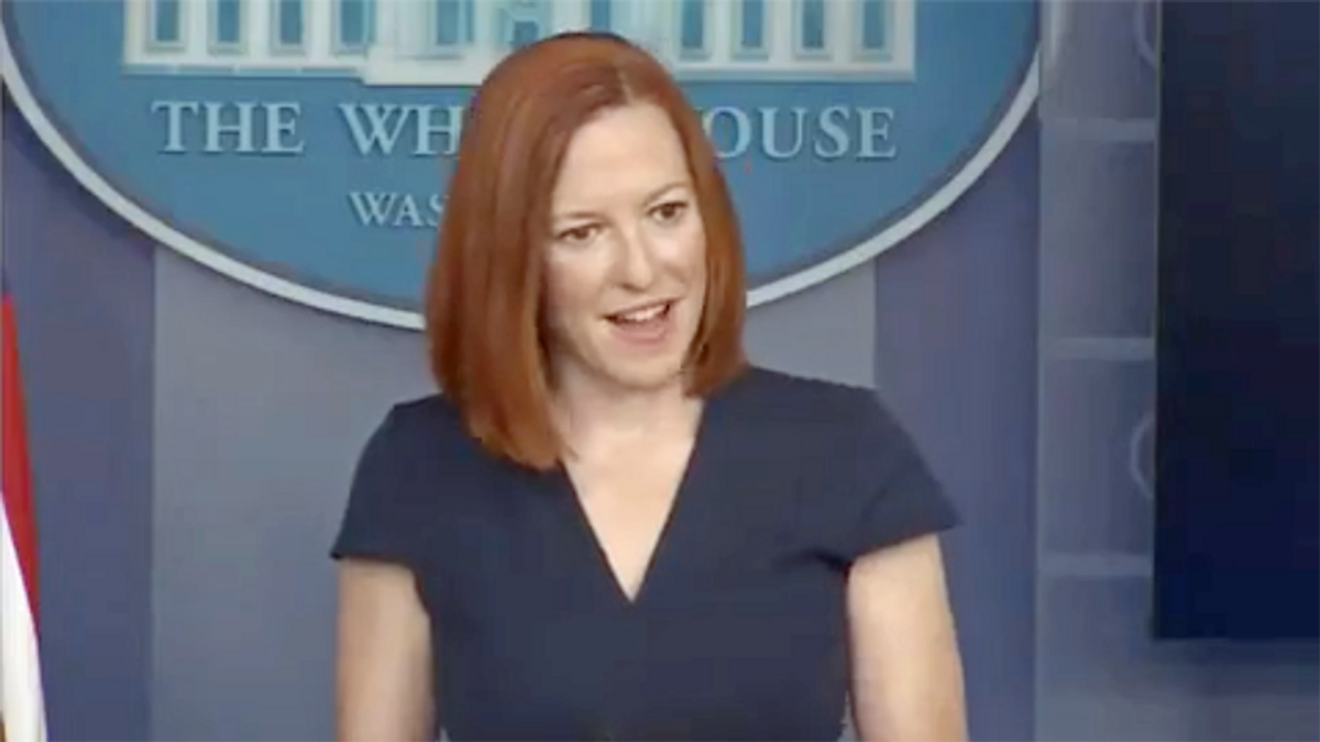 'Sounds mysterious': Jen Psaki hilariously responds to Newsmax allegations of a 'secret memo'