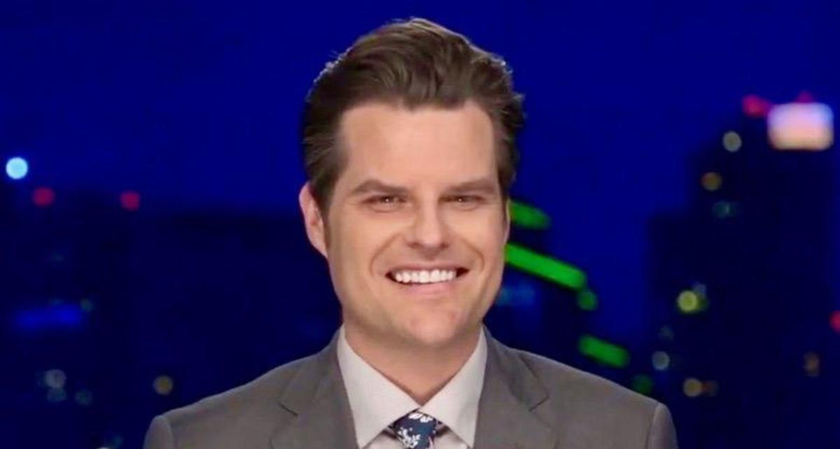 'I'm enjoying your downfall! Please keep struggling!' Matt Gaetz roasted for 'release the tapes' tweet