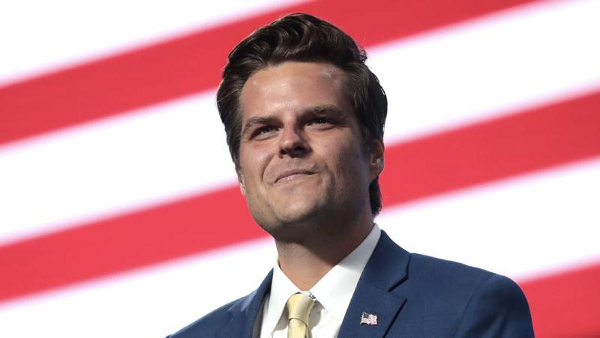 Rep. Matt Gaetz says he's 'absolutely not resigning'