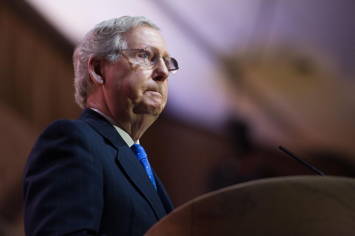 'Farcical and despicable': McConnell ignites furious backlash after he 'lets the mask slip' on corporate donations