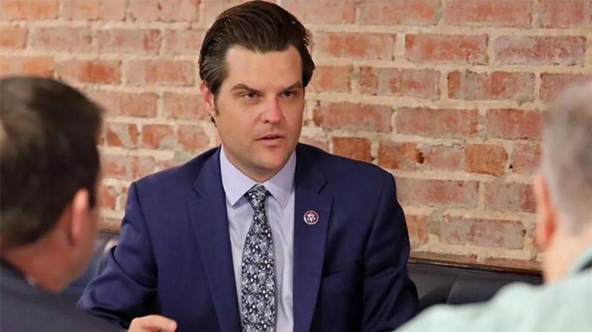 'Everyone is going to need a lawyer': Leaked chats from Matt Gaetz 'wingman' show panic in wake of arrest